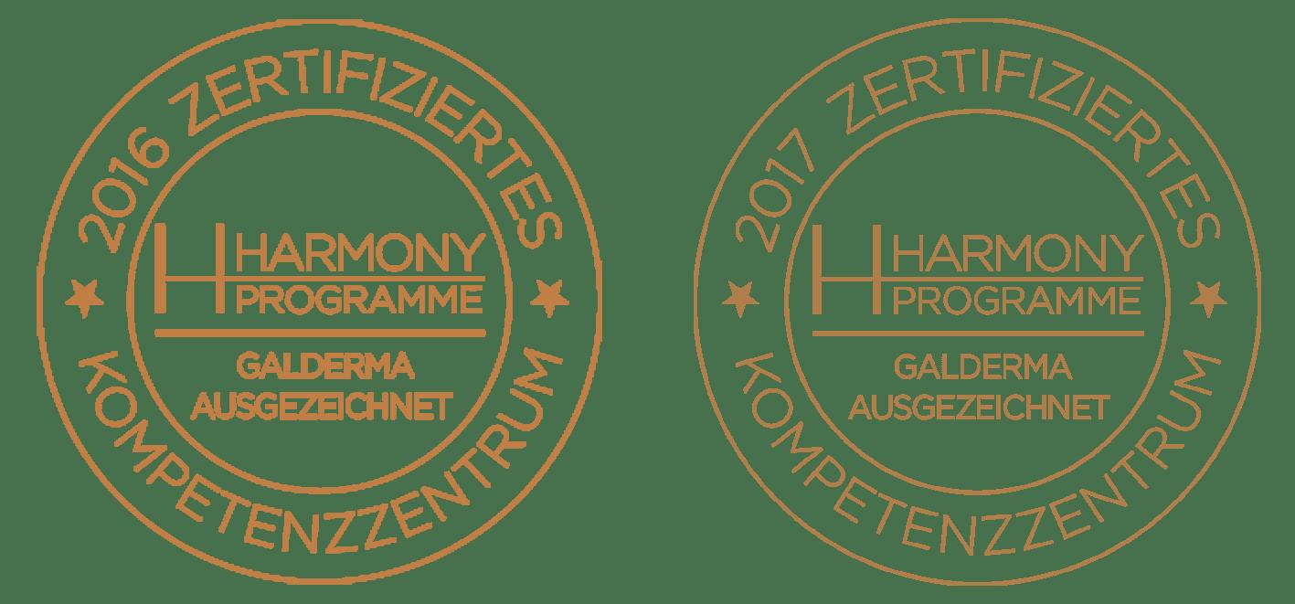 MEDICAL SKIN CENTER Dr. Bacman in Köln ist eine Harmony zertifizierte Praxis