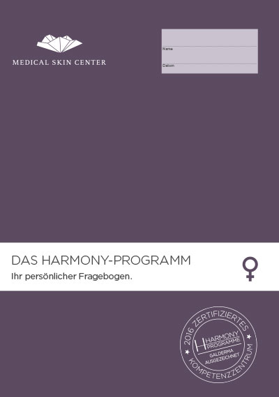 Harmony Fragebogen bei Dr. Bacmna im MEDICAL SKIN CENTER
