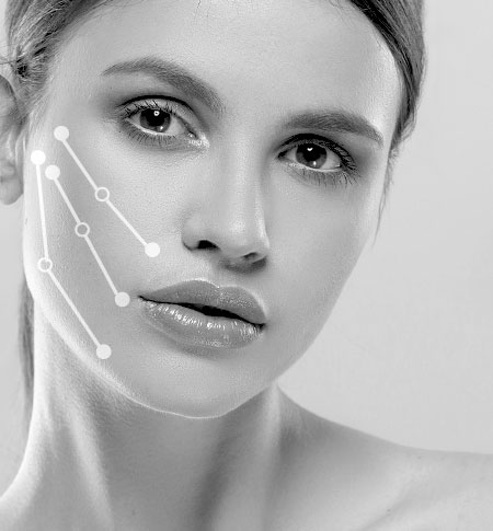 Mid-Facelift, Straffung und Verjüngung der Haut, Definierte Gesichtskonturen, Volumenaufbau in Köln