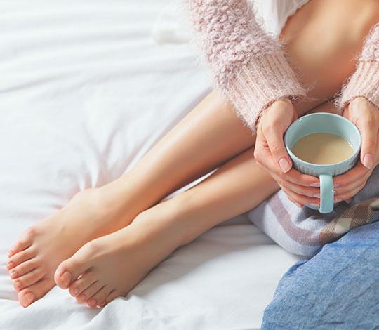 Schöne Füße und Nägel nach der Nagelpilz Laser Behandlung in Köln, NRW