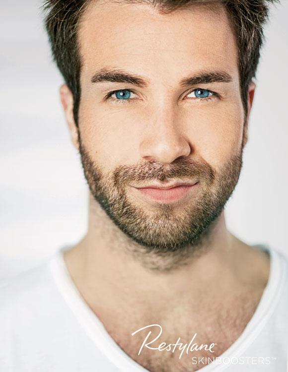 Restylane Skinbooster Behandlungen für Männer